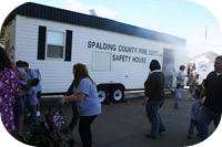 Spalding County Fire Department Community Involvement
