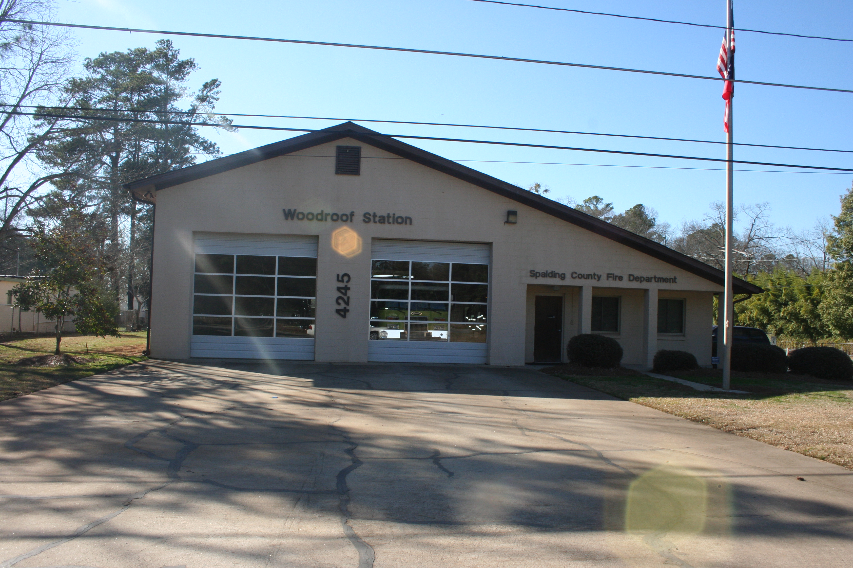 Spalding County, GA - Service Area and Fire Stations